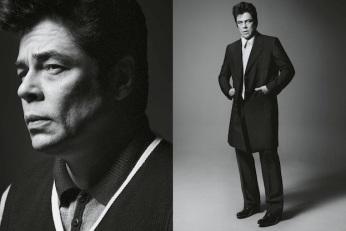 Benicio del Toro for Prada SS13
