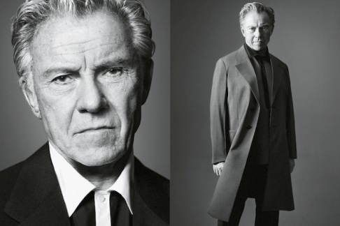 Harvey Keitel for Prada SS13