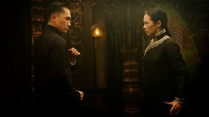 Gong Er and Ip Man prepare to fight. Image Courtesy of Annapurna Pictures.