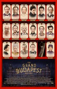 The Grand Budapest Hotel, dir. Wes Anderson