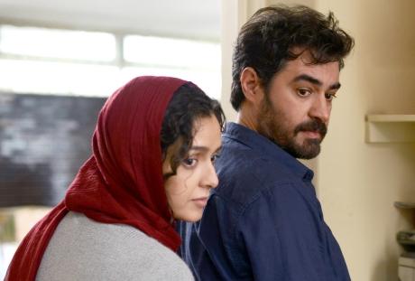 "Taraneh Alidoosti and Shahab Hosseini as ""Emad""  in The Salesman, dir. Asghar Farhadi. Photo courtesy of Amazon Studios and Cohen Media Group"
